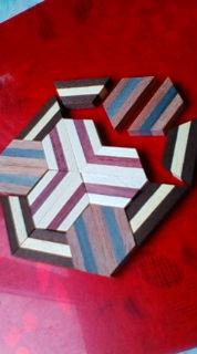 寄木細工体験